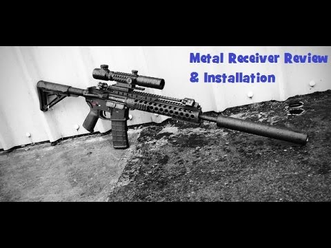 How To Build A Airsoft M4 Based Rifle - Metal Receiver Review & Installation