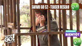 TEASER : Qui dit SAFARI GO, dit pas de réseau pour Carole Rousseau ! La saison 2 bientôt sur Gulli !