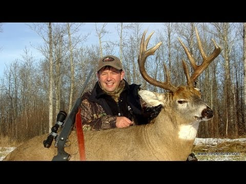 """Hunting Whitetail Deer Alberta Canada """"Chambered for the wild"""" with Jim Benton"""