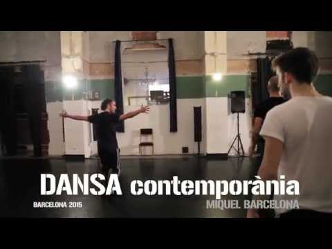 Miquel Barcelona - Contemporary dance trainning