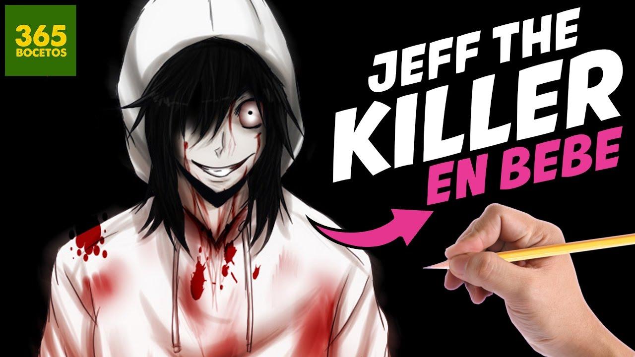 Worksheet. COMO DIBUJAR A JEFF THE KILLER EN BEBE PASO A PASO  Como seria