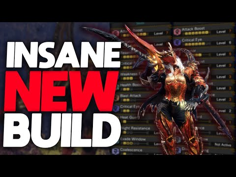 *NEW* BEST BUILD IN THE GAME! | Max Damage Endgame Sets for Raw \u0026 Safi'jiiva Weapons | MHW: Iceborne