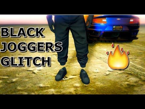 Gta 5 The Best Black Joggers Glitch In Gta 5 Online PS3Xbox 360 YouTube