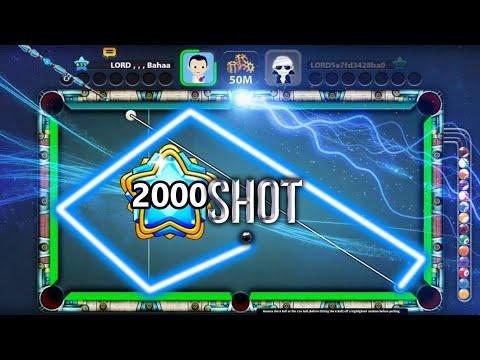 LEVEL 2000 Shot | 8 Ball Pool | LORD Bahaa