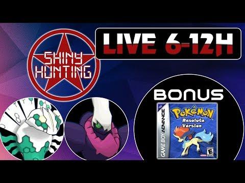 MARATHUNE #12 : SHINY HUNTING 6H - POKÉMON RESOLUTE (4H)