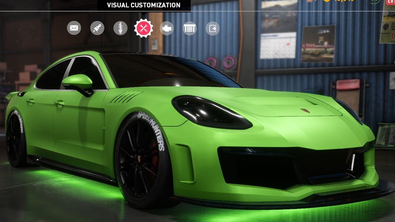 Need For Speed Payback Porsche Panamera Turbo