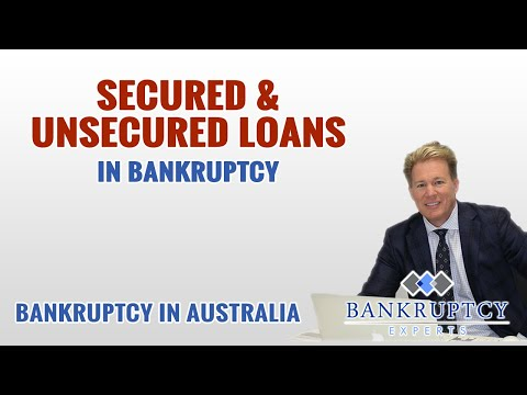 What is the difference between a Secured Loan and an Unsecured Loan in Australia?