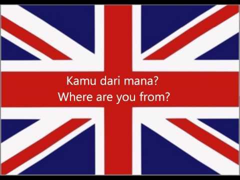 Pelajaran Bahasa Inggris: Saya Dari Indonesia