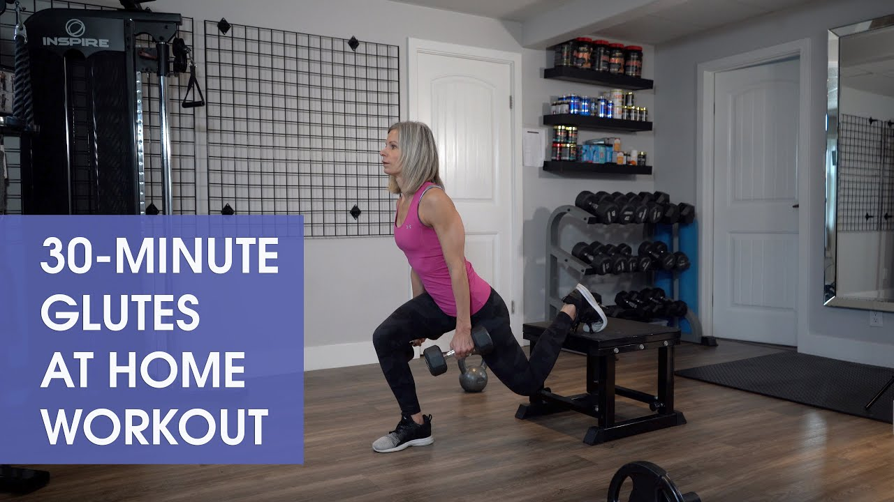 30-Minute Glutes at Home