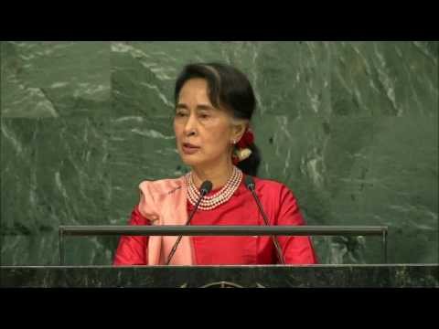 Myanmar - Minister for Foreign Affairs Addresses General Debate, 71st Session