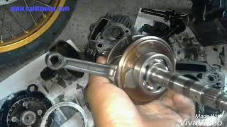 overhaul motor 4t  jem rod  barang apa tukar