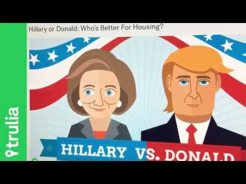 Home Prices will rise under what presidential nominee?   TheREsource.tv