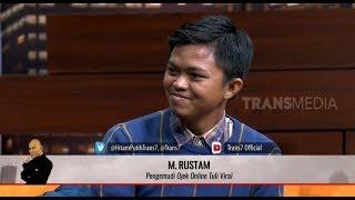 Kisah Rustam, Pengemudi Ojek Online Tuli | HITAM PUTIH (13/08/19) Part 2