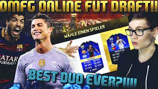 FIFA 16: ONLINE FUT DRAFT (DEUTSCH) - FIFA 16 ULTIMATE TEAM - OMG BEST DRAFT DUO EVER?!!