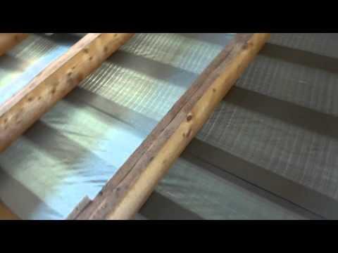 Деревянные перекрытия  Сдвоенные балки