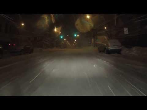 U.S. - PA. - Northeast - night - Snowstorm 2-13-2014