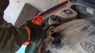 Замена масла в двигателе KIA - Spectra