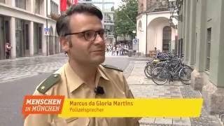 Marcus da Gloria Martins - Pressesprecher Polizei München - Menschen in München