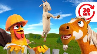Goat - Get Out and More Kids Songs & Nursery Rhymes