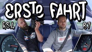 Die erste Fahrt mit dem neuen Setup! - Audi RS4 B7 Motortausch Teil 9 | Philipp Kaess |