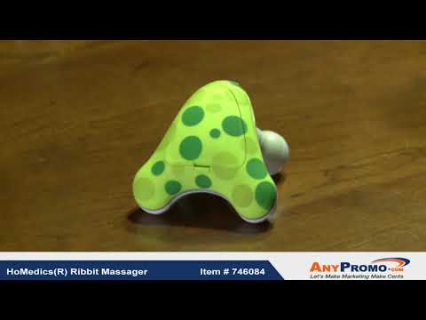 Promo Product Review: HoMedics(R) Ribbit Massager| AnyPromo 746084