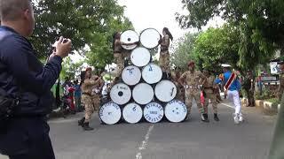 Download lagu atraksi drumband AMNI semarang di kirab budaya demak ke 516 #drumbandamni