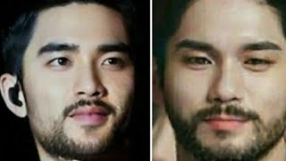 Here's What K-Pop Idols Would Look Like If They Grew Out Their Facial Hair