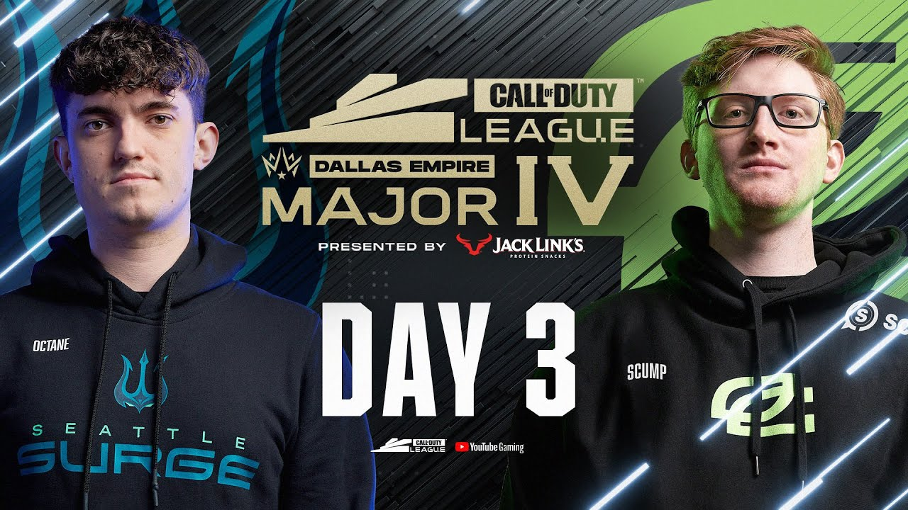 Download Call Of Duty League 2021 Season | Stage IV Major Tournament | Day 3