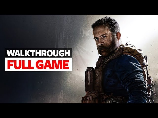 Call Of Duty Modern Warfare PS4 Walkthrough Part 1 - Full Game Ending - Call Of Duty Modern 2019