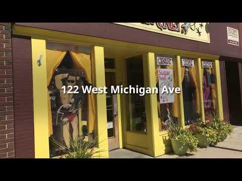 Downtown Ypsilanti's Michigan Ave shopping district