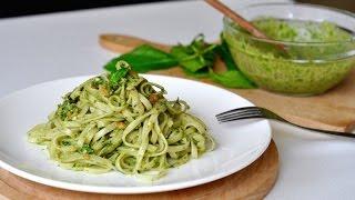 Pesto Pasta 罗勒青酱意面--Freesiaa made 第18集