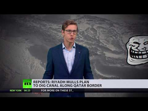 Saudi Arabia considers digging canal along Qatar border – reports