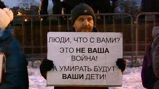 Две правды о войне в Украине(Жительница Донецка рассказывает москвичам о том, что видела своими глазами.