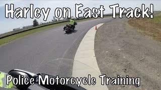 Basic Police Motorcycle School-High Speed Fast Track Spokane WA-County Raceway-PT4