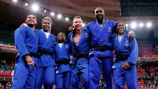 France captures Olympic gold in first-ever mixed team judo • FRANCE 24 English