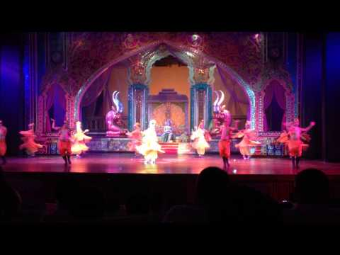 Flowers of china, Persian Dance, Dance with me (Indian song) @ Alcazar Cabaret Show Pattaya