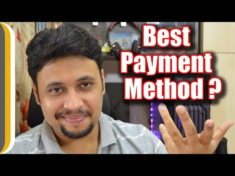 The Best Payment Method according to Ur IndianConsumer !