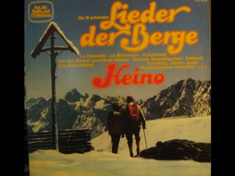 HEINO - DIE 18 SCHONSTEN LIEDER DER BERGE - side 2 of 2