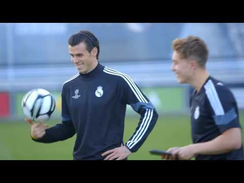 Gareth Bale - How To Hit A Knuckleball -- Gamedayplus Episode 6 -- adidas Football