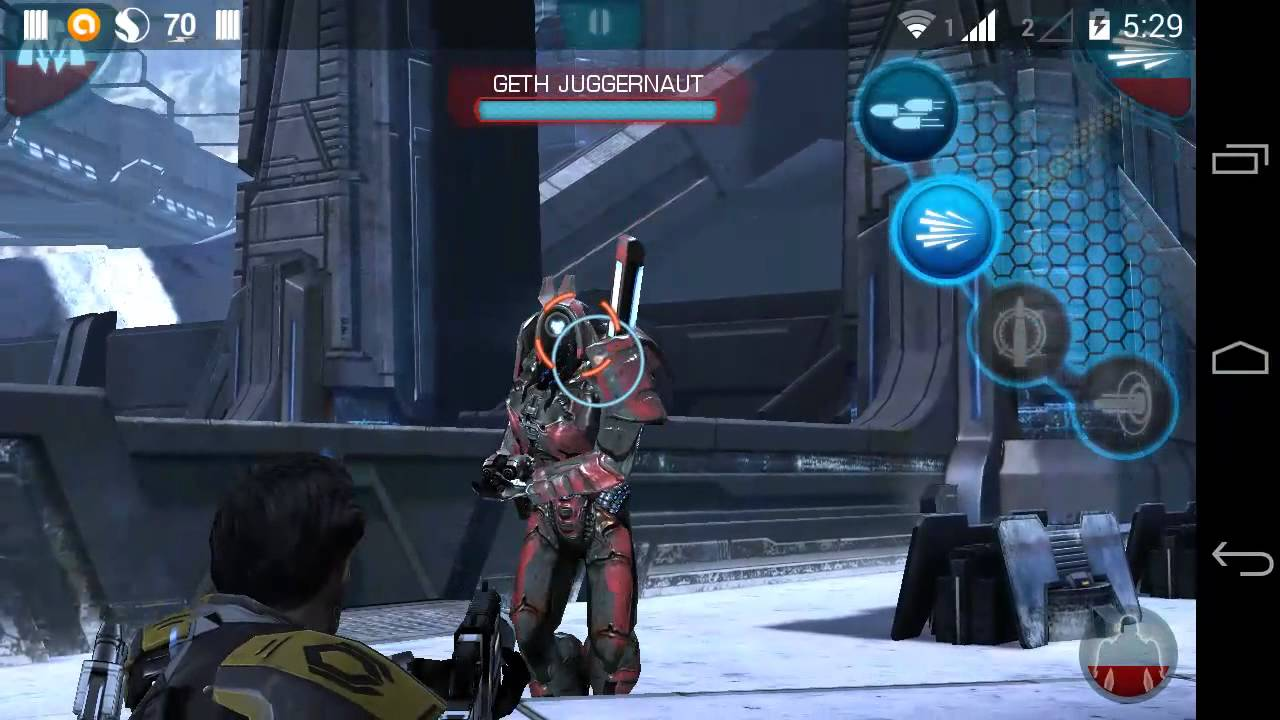 Gila game: mass effect infiltrator v1. 0. 39 apk + data (offline.