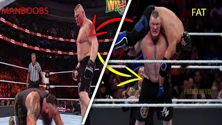 Brock Lesnar And Gynecomastia - Why Does Brock Have Manboobs And Getting Fat?