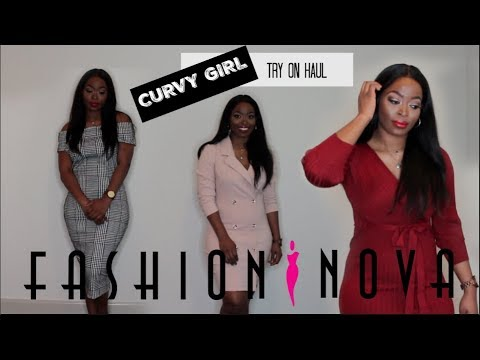 Cupid Got Me Falling in Love with Fashion Nova: Valentine's Day Try ON Haul 💕💕  CURVY GIRL