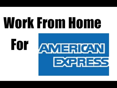 WORK AT HOME JOBS WITH AMERICAN EXPRESS! MAKE OVER $20 PER HOUR WITH THESE ONLINE JOBS!