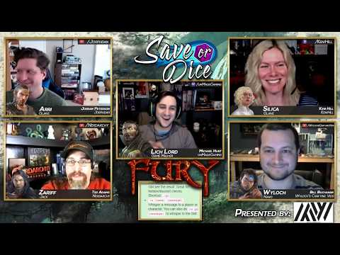 Save or Dice: Fury | Episode 03 - The City at the Center | Numenera Live Play