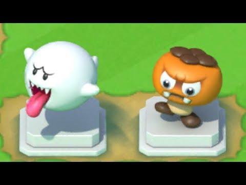 Super Mario Run - New Statues Unlocked