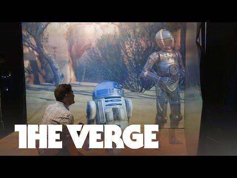 Inside ILM's secret Star Wars virtual reality lab