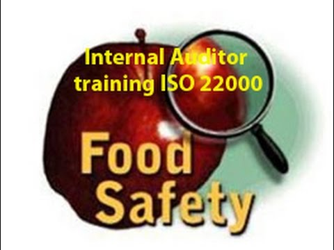 Food Safety Haccp Iso 22000 Internal Auditor Training