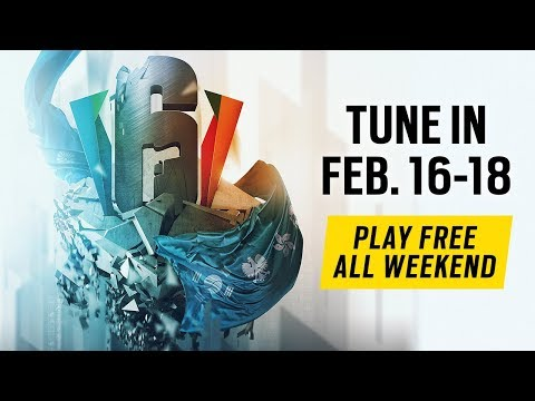 Rainbow Six Siege: LIVESTREAM Six Invitational 2018 - Day 2 - Stream A