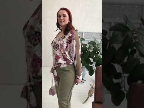 Блуза БЕЛОСЛАВА Яркий Купон