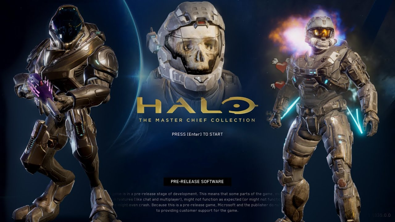 Halo MCC PC Flight 2 - Prototype Reach Customization Menu ...